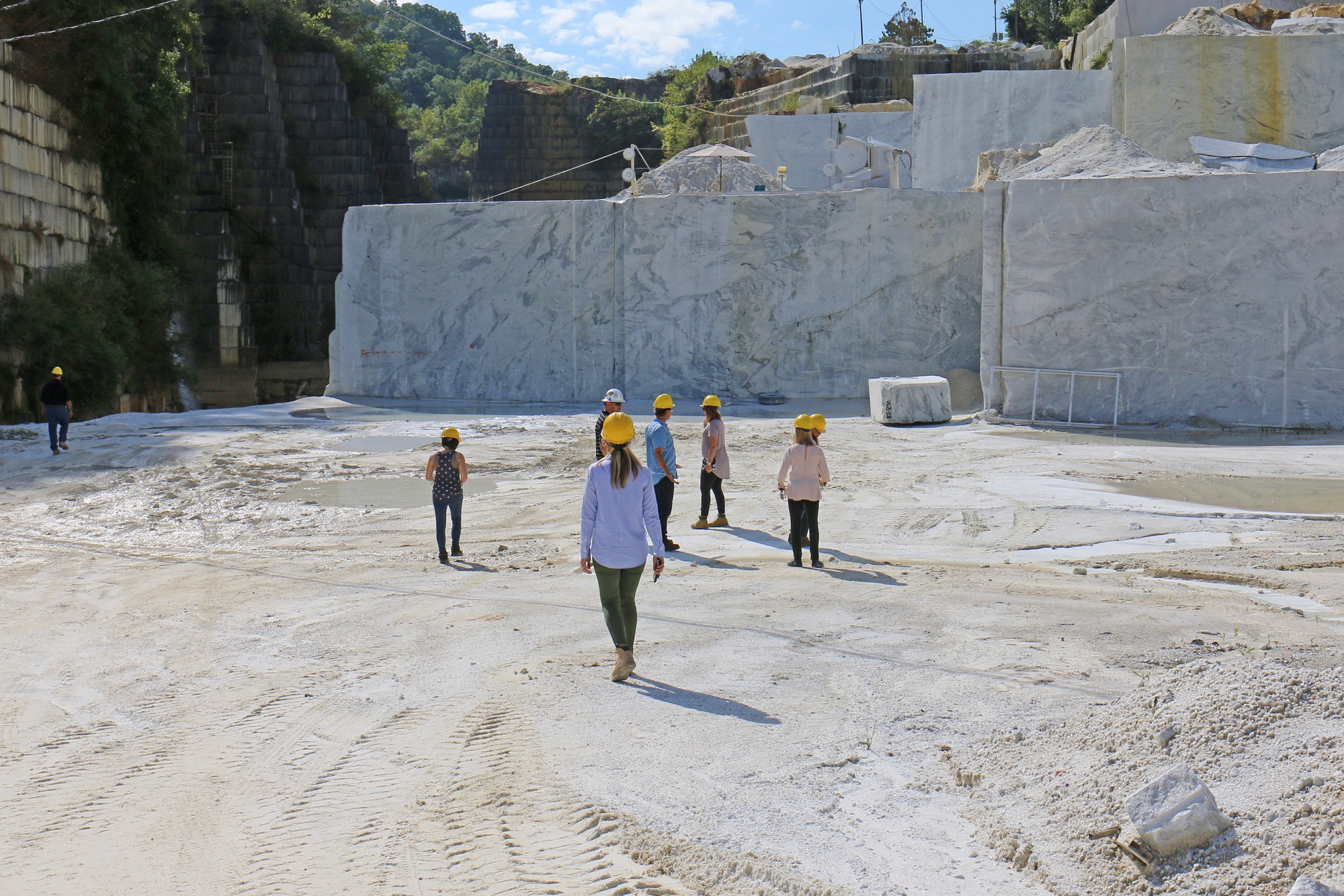 Inside Look: Winning Designers Visit Georgia Marble Quarry