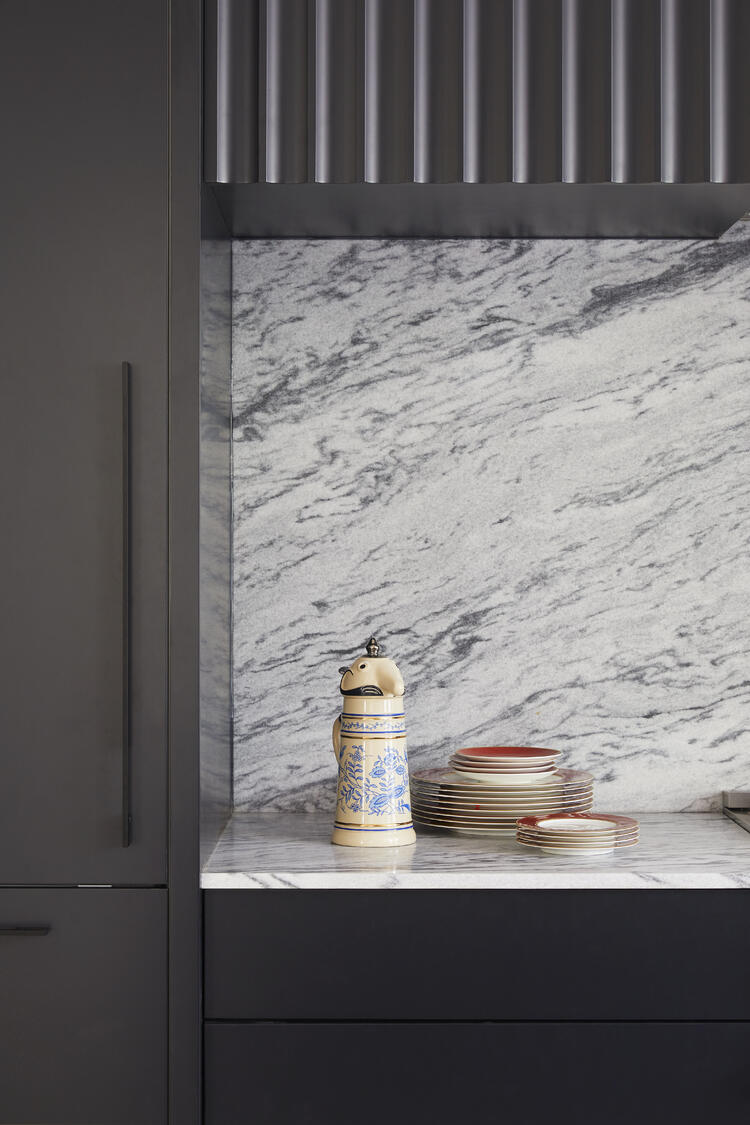 Polycor GEORGIA MARBLE - PEARL GREY™ kitchen
