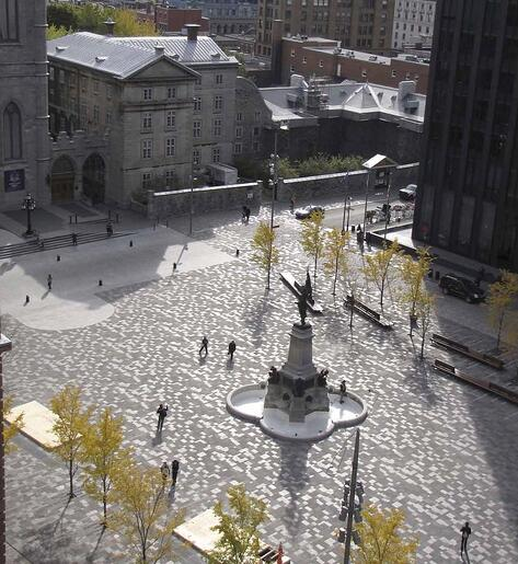 Place-DArmes -Cambrian-Black-Granite-Polycor-Urban-Landscaping-Montreal-Resized