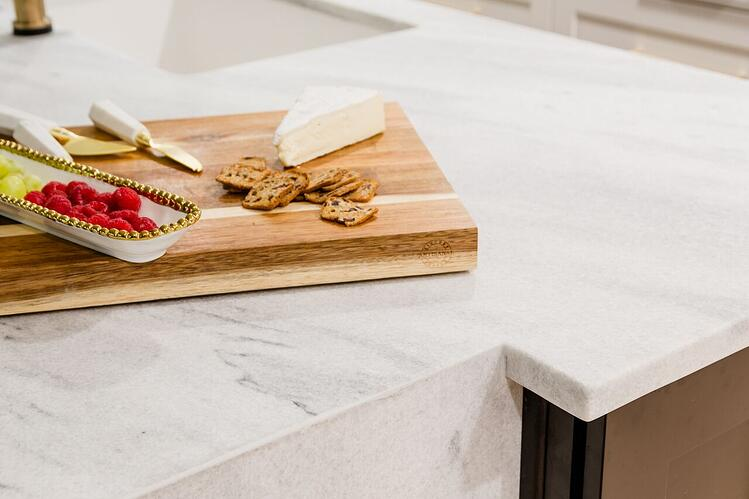 White-cherokee-georgia-marble-kitchen-island