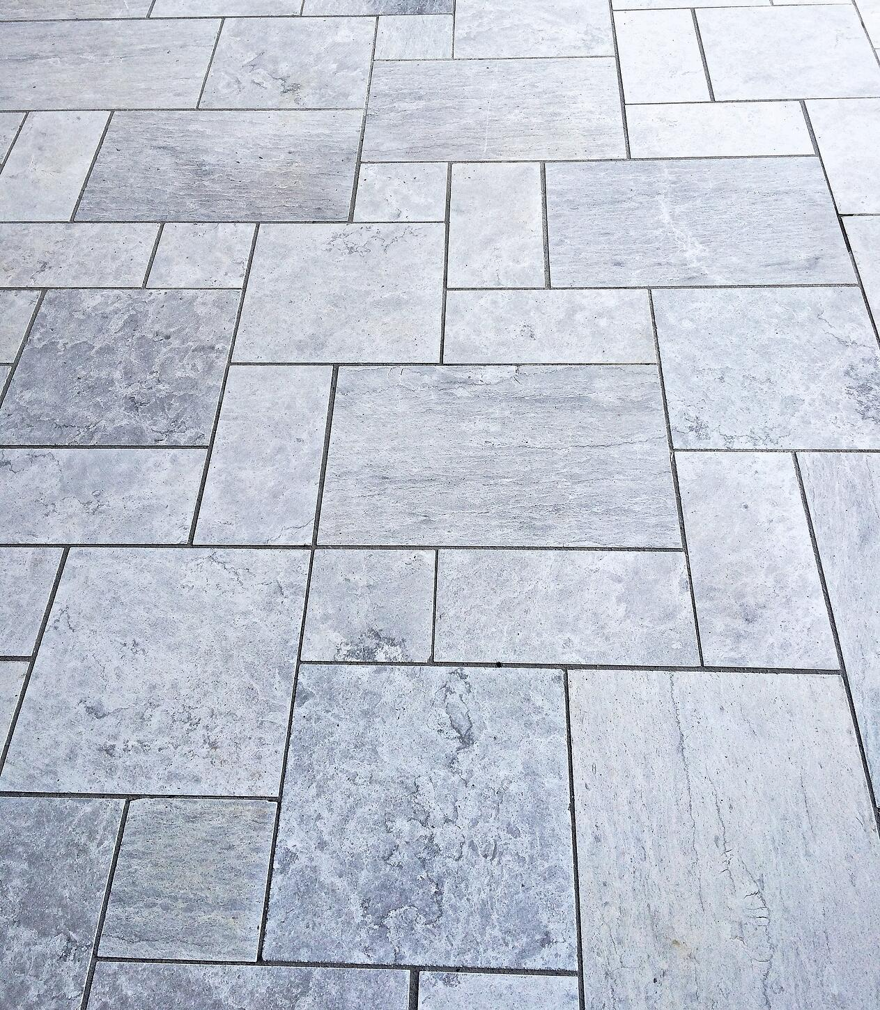 Soft on Color, Hard on Density, This Grey Limestone Acts Like a Marble