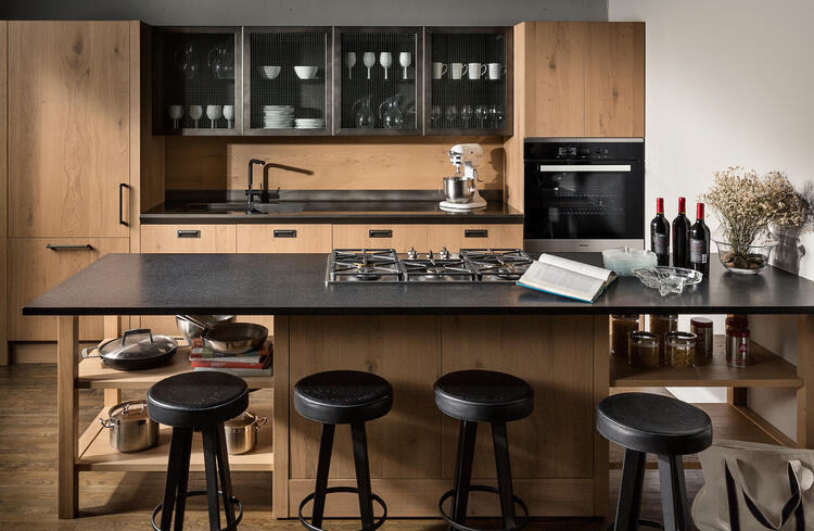 The fashion kitchen scavolini and diesel meld rustic and luxury - Kitchens scavolini ...