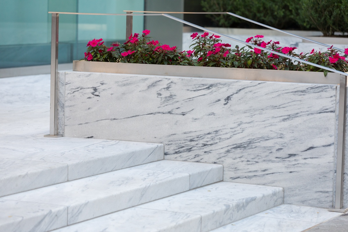 Pearl Grey American marble from Georgia