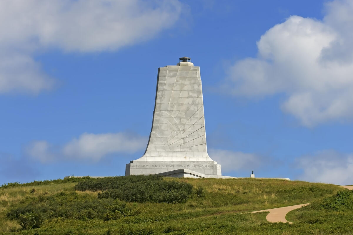 White-Mount-Airy-Granite-Wright-Brothers-Memorial