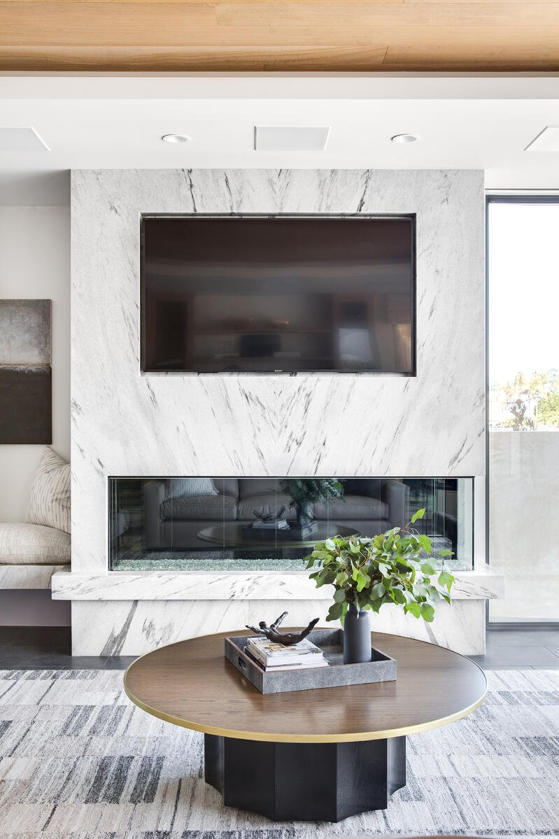 White-Cherokee-Marble-Polycor-Fireplace-Brooke-Wagner-Design-1