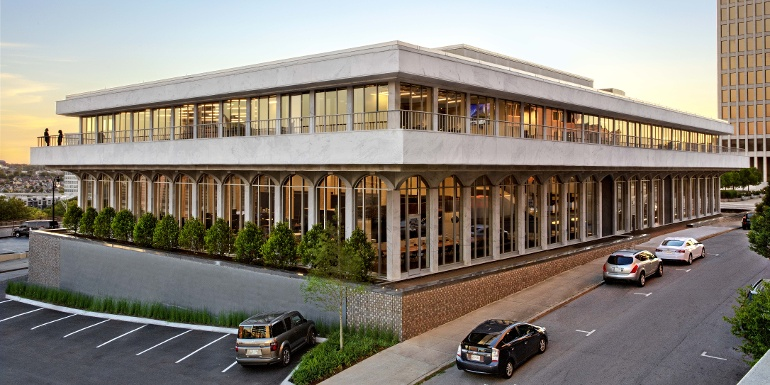 Not Quite By The Book: HASTINGS Architecture Revives Abandoned Library for New HQ