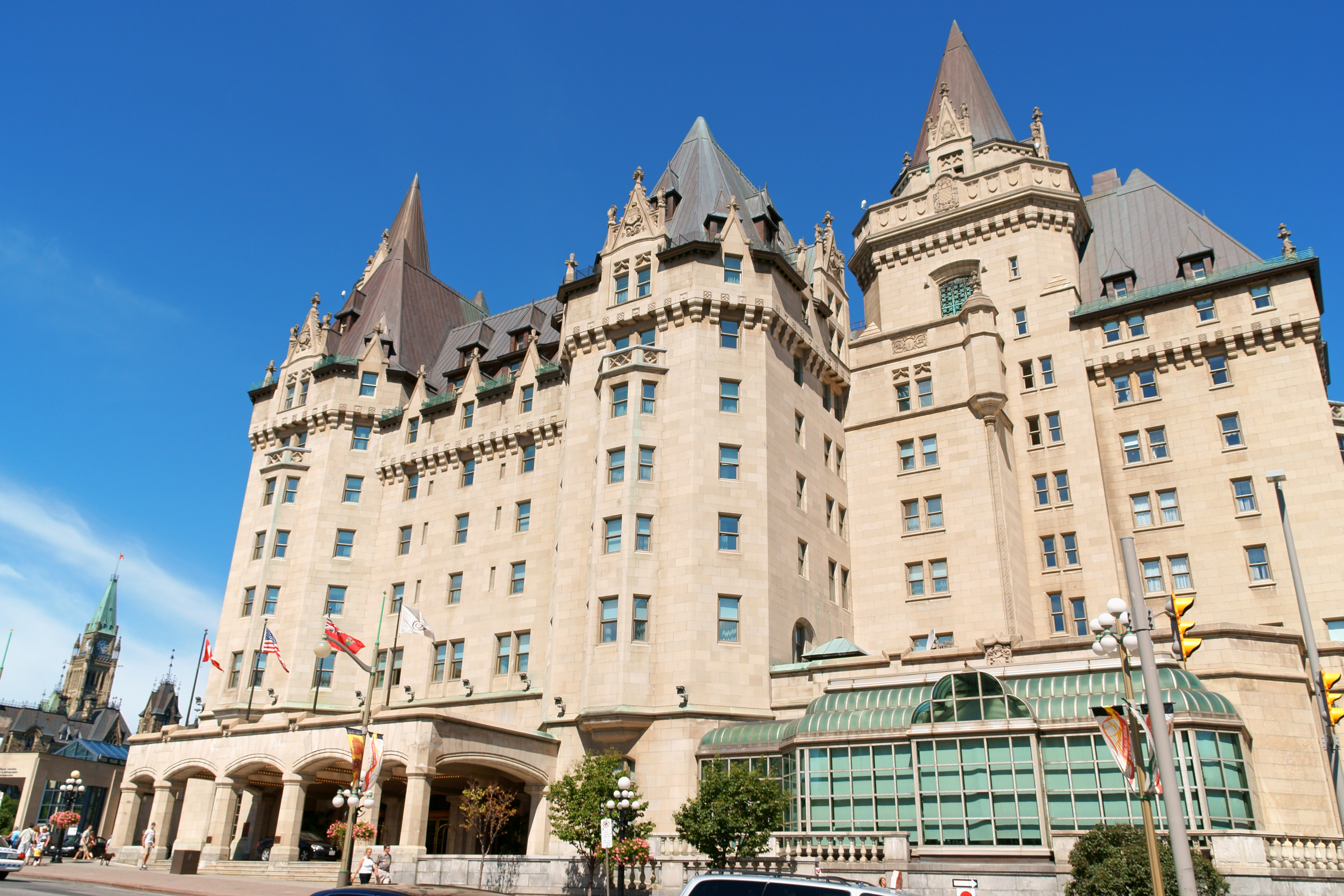 Fairmount Chateau Laurier Hotel - Ottawa, ON - Indiana Limestone