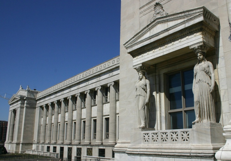 Field Museum West Facade Georgia Marble-1