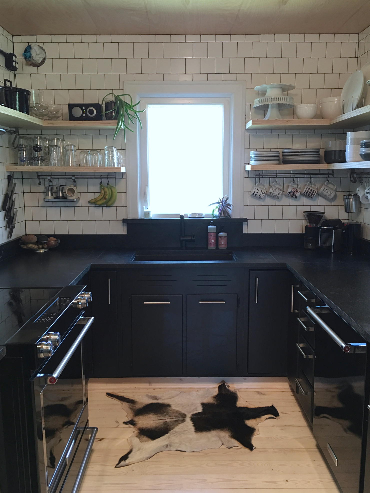 DIY Soapstone Counters? Yes, They Did. See The Kitchen.